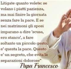 Papa Francesco Agli Sposi Vivere Insieme Forum Matrimonio Com