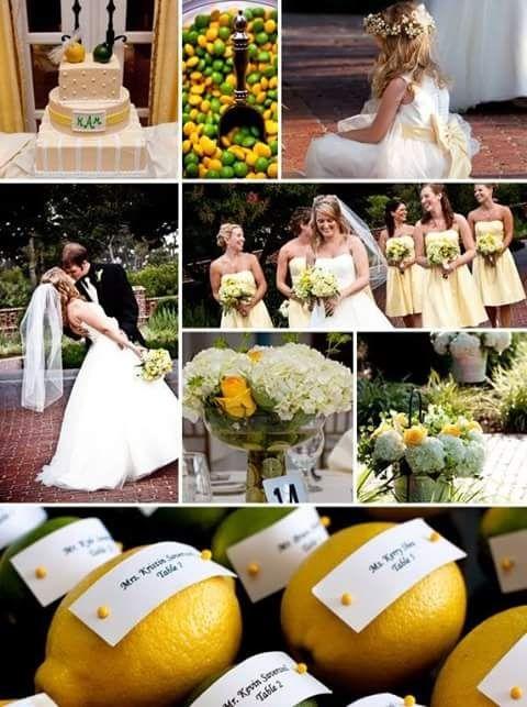 Matrimonio Tema Limoni : Matrimonio tema limoni foto