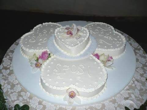 Torte monopiano nunziali organizzazione matrimonio for Piani domestici a forma di t