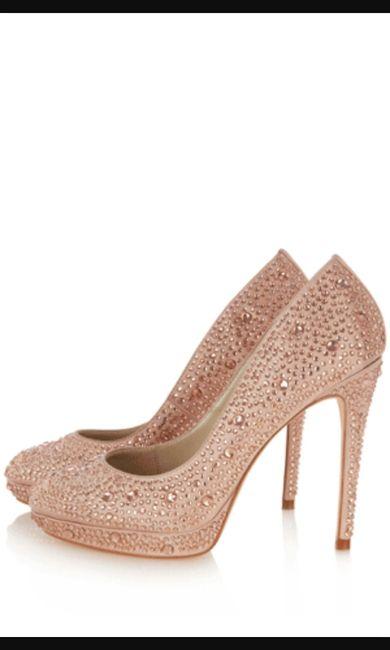 Scarpe sposa rosa cipria