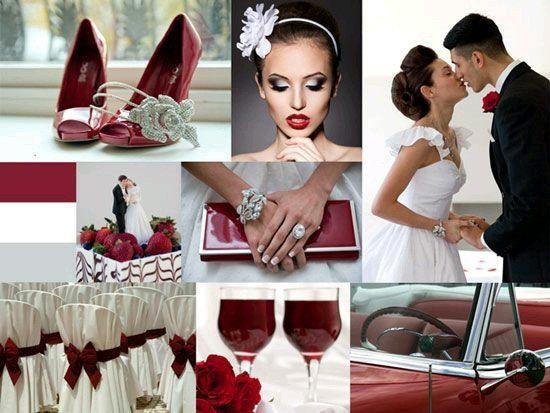 Matrimonio Tema Rosso : Tema rosso idee voi organizzazione matrimonio