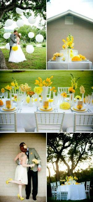 Matrimonio Tema Giallo : Tema giallo voi organizzazione matrimonio forum