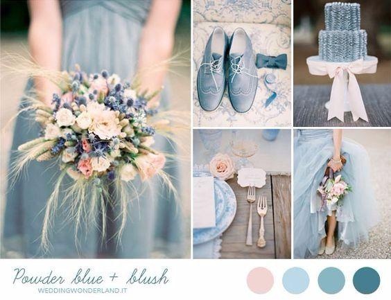 Addobbi Matrimonio Azzurro : Tema del matrimonio azzurro carta da zucchero organizzazione