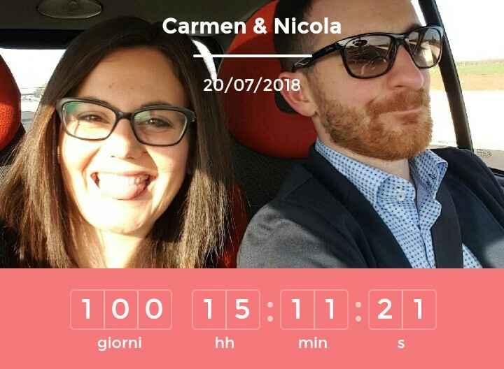 Il countdown delle tue nozze segna...⏰ - 1