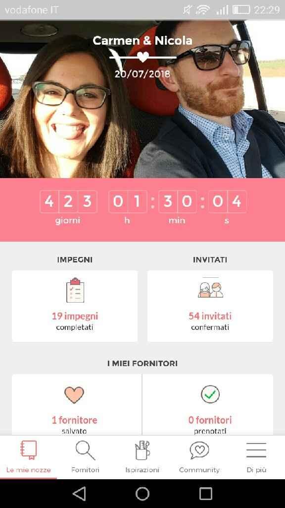 Condividete la data delle vostre nozze - 1