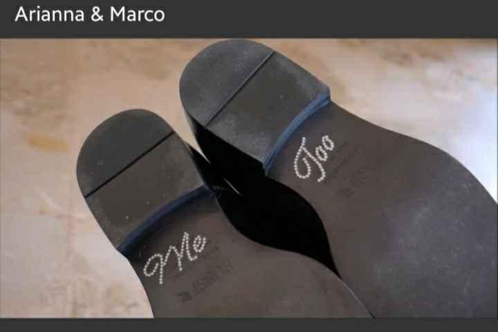 Adesivi/scritte scarpe - 1