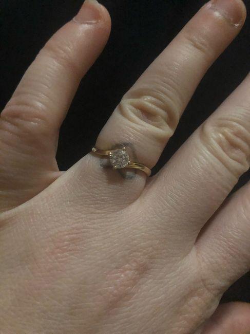 I vostri anelli di fidanzamento: vogliamo vederli! 8