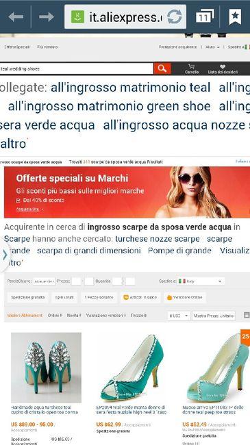 Devo comprare scarpe verde tiffany  - Moda nozze - Forum Matrimonio.com bf29b2d1af9