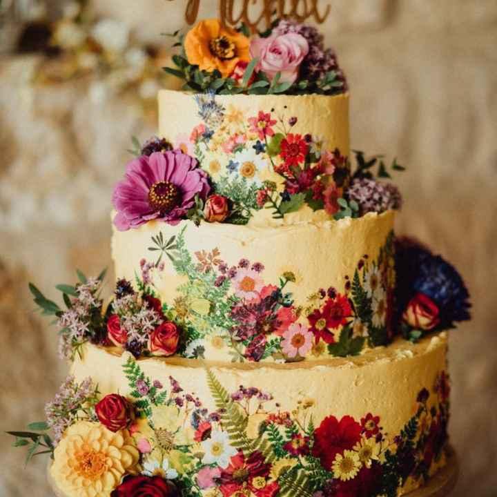 Torta nuziale 🎂 - 2