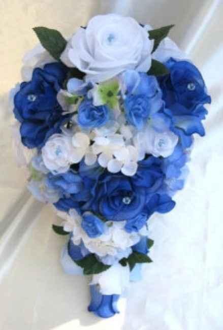 Bouquet pervinca