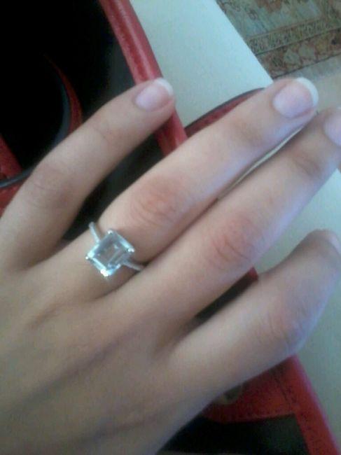 Hai già ricevuto l'anello? - Le foto! - 1