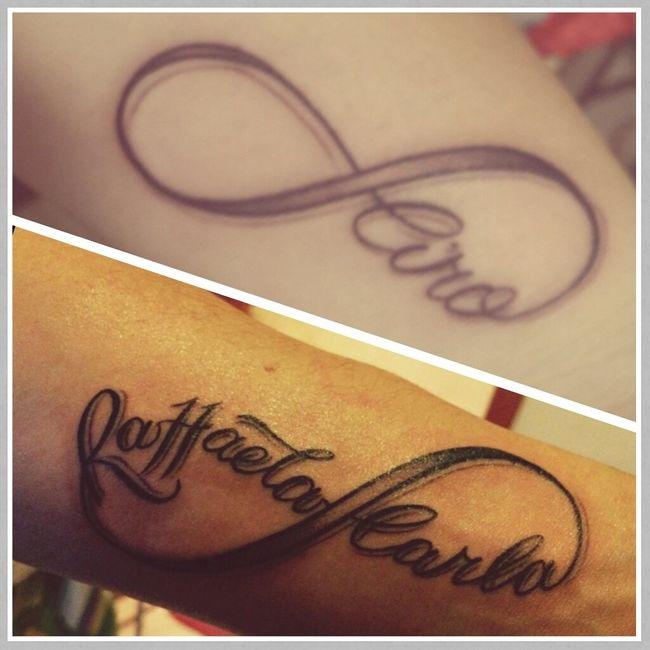 Tatoo di coppia vivere insieme forum for Idee tatuaggi nomi figli