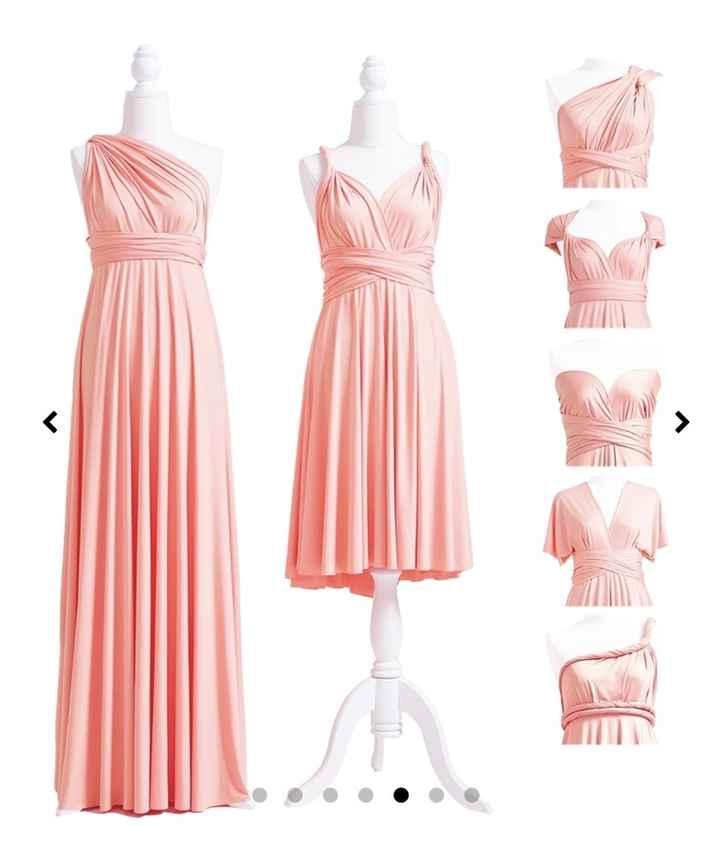 Infinity Dress Damigelle - 1