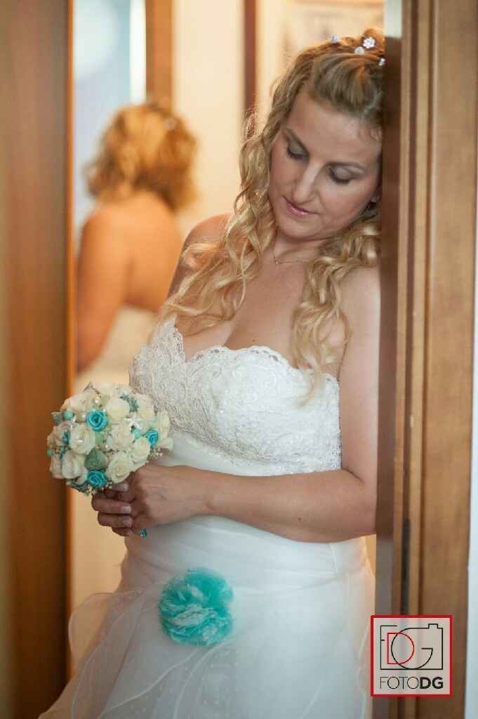 Il giorno del nostro sÌ..???sposa verde tiffany 2.7.2016 - 3