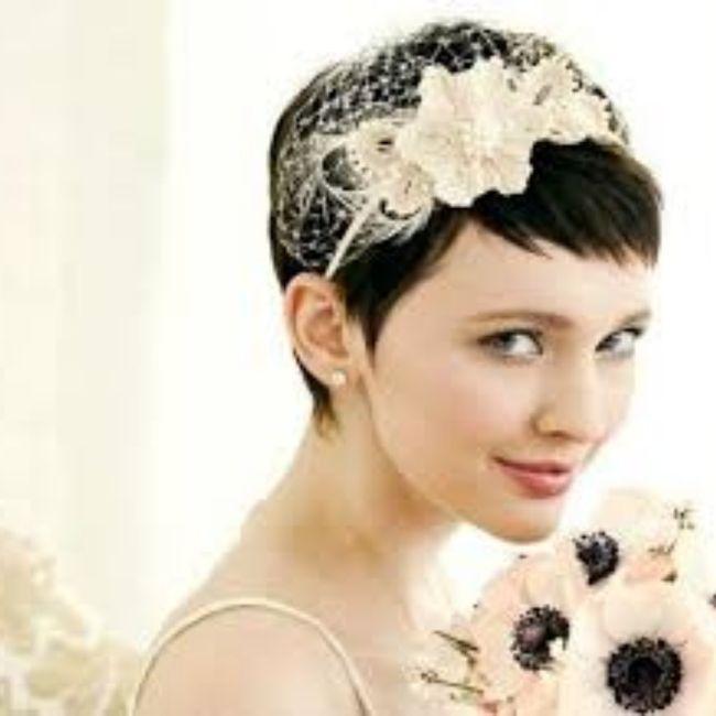 Acconciature e accessori capelli corti 7