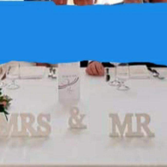 Come sarà il tavolo sposi? 1