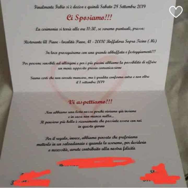Inviti matrimonio c - 1