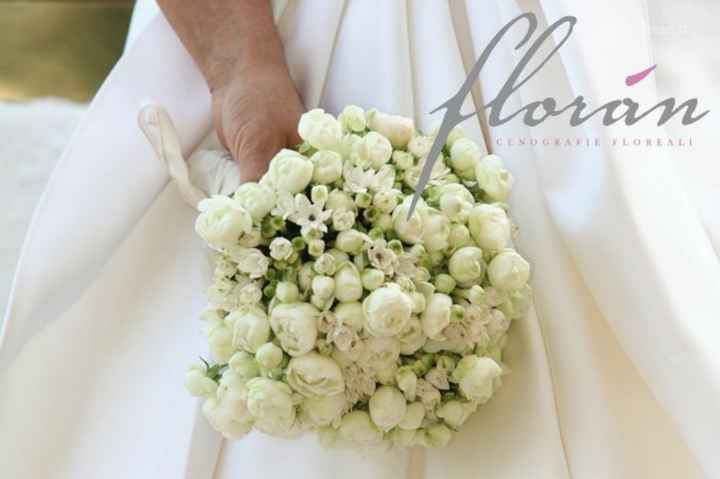 Bouquet rose e fiori d'arancio - 1