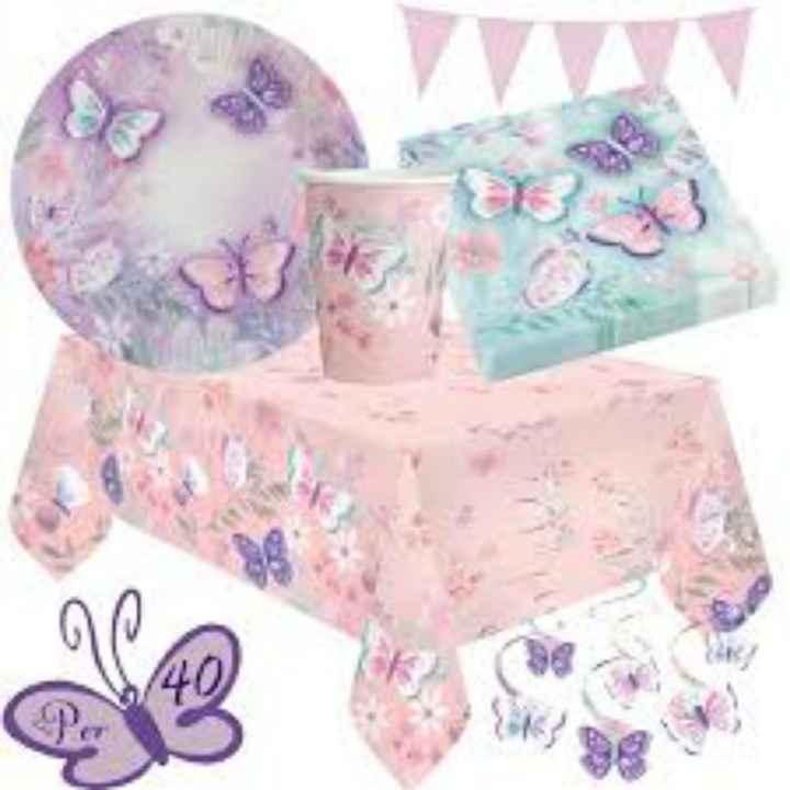 Compleanno tema farfalle - 2