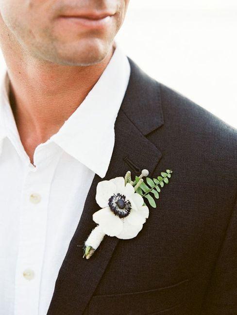 Promossa o bocciata: la boutonnière dello sposo 🤵 1