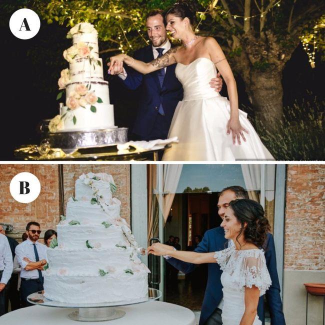 Quale wedding cake preferisci?