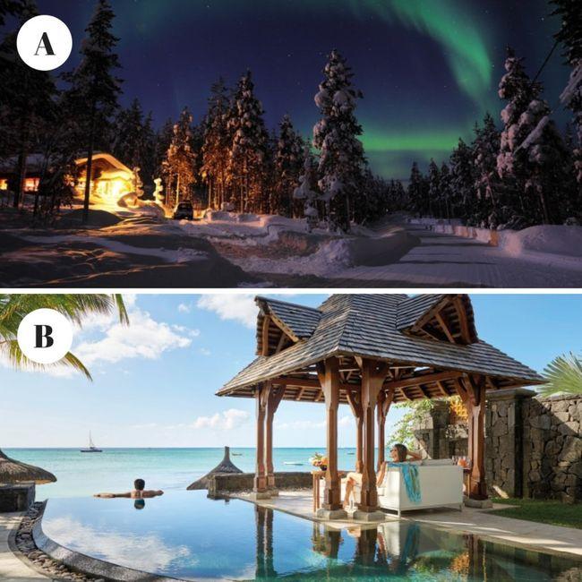 Quale meta preferite per il vostro viaggio di nozze?