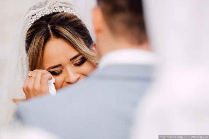 Chi si emozionerà di più il giorno delle nozze?