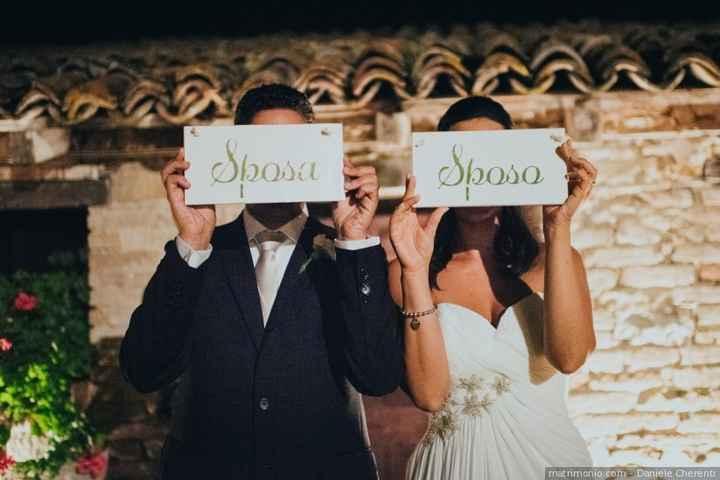 In che anno vi sposerete?