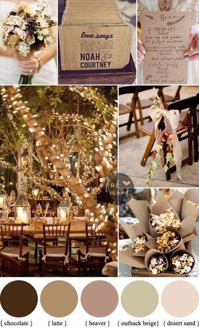Matrimonio In Autunno : Quale palette di colori sceglieresti per un matrimonio in autunno