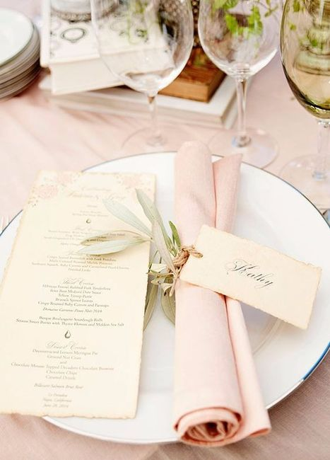 Segnaposto Matrimonio Girasoli : Tema nozze il segnaposto organizzazione