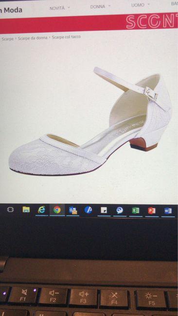 Help!! Scarpe sposa basse e comode e...non eccessivamente costose $$$$$ 5