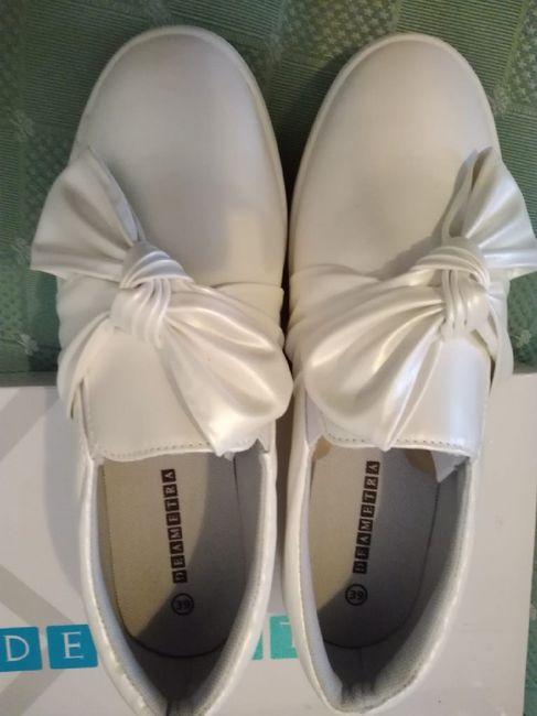 Scarpe sposa senza tacco - 1