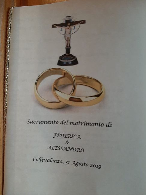 Libretto messa 💌 7