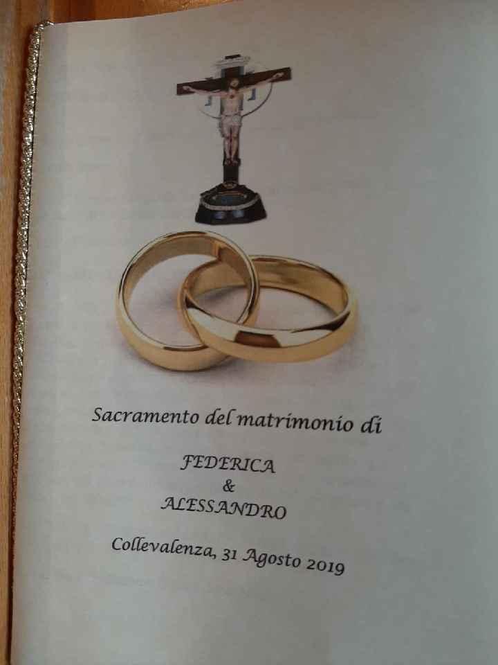 Libretto messa 💌 - 1
