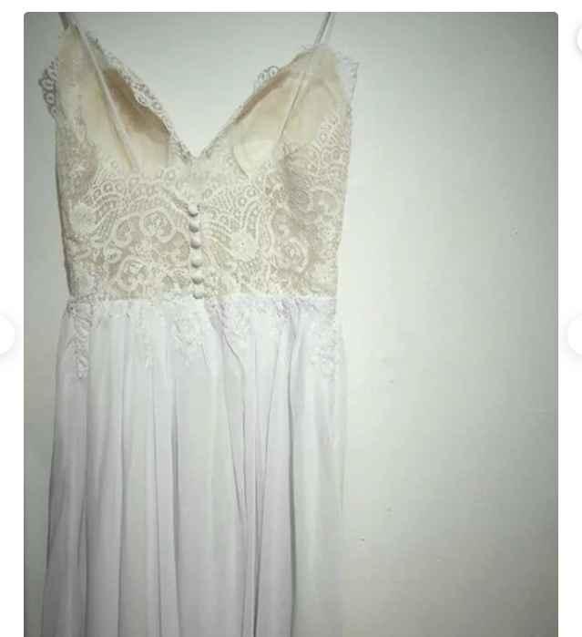Aiuto ragazze ho trovato il mio abito di sposa su un sito a un prezzo ridicolo! - 3