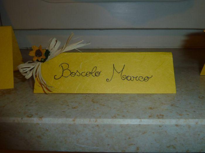 Segnaposto Matrimonio Girasoli : Segnaposto girasoli fai da te forum matrimonio