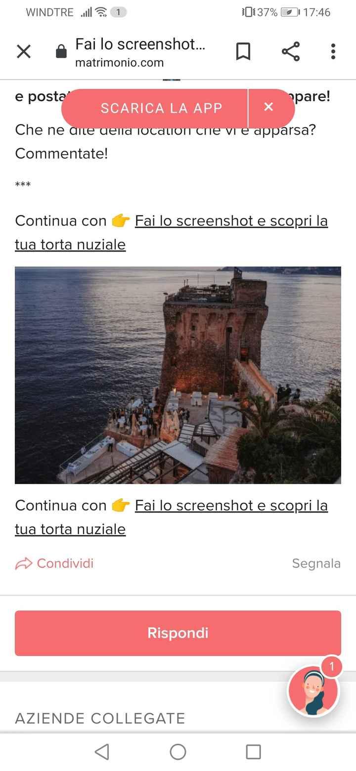 Fai lo screenshot e scopri la tua location 2