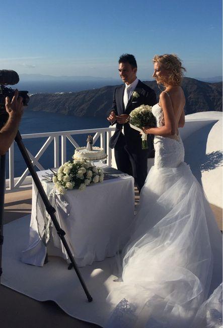Matrimonio Simbolico Santorini : Matrimonio a santorini neo spose forum