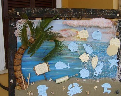 Tableau Matrimonio Spiaggia : Tableau tema mare organizzazione matrimonio forum