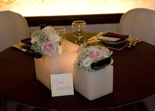 candele segnaposto foto organizzazione matrimonio