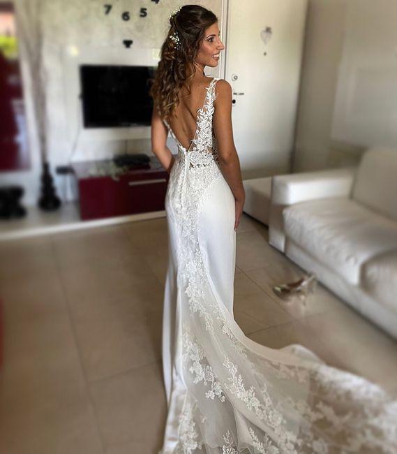 Il mio vestito da sposa🤍 1