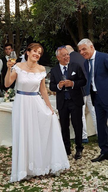 Finalmente sposi !tanta gioia e felicità!tutto bellissimo ❤️ 3