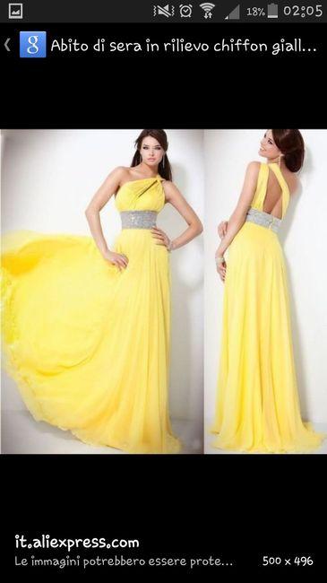4963819a3d25 Testimone abito giallo - Moda nozze - Forum Matrimonio.com