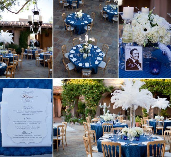 Tema Matrimonio Blu E Bianco : Idee per tema nozze bianco e blu organizzazione
