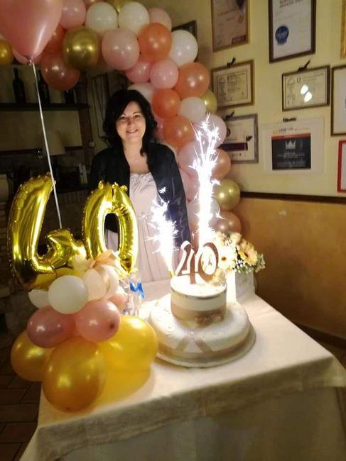 Finalmente 40 anni 🤩 - 8
