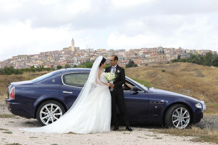 Macchine matrimonio 1