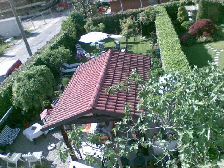 giardino dall'alto