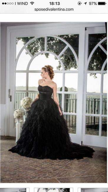 Abito da sposa con il nero... si o no? - 1