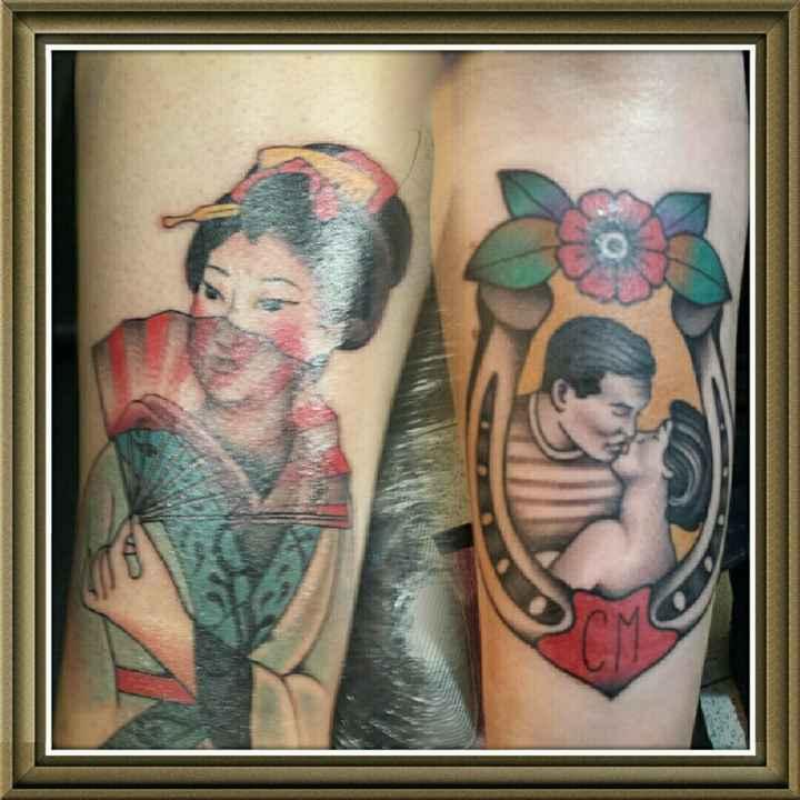 Spose tatuate vediamo i vostri tattoo - 1