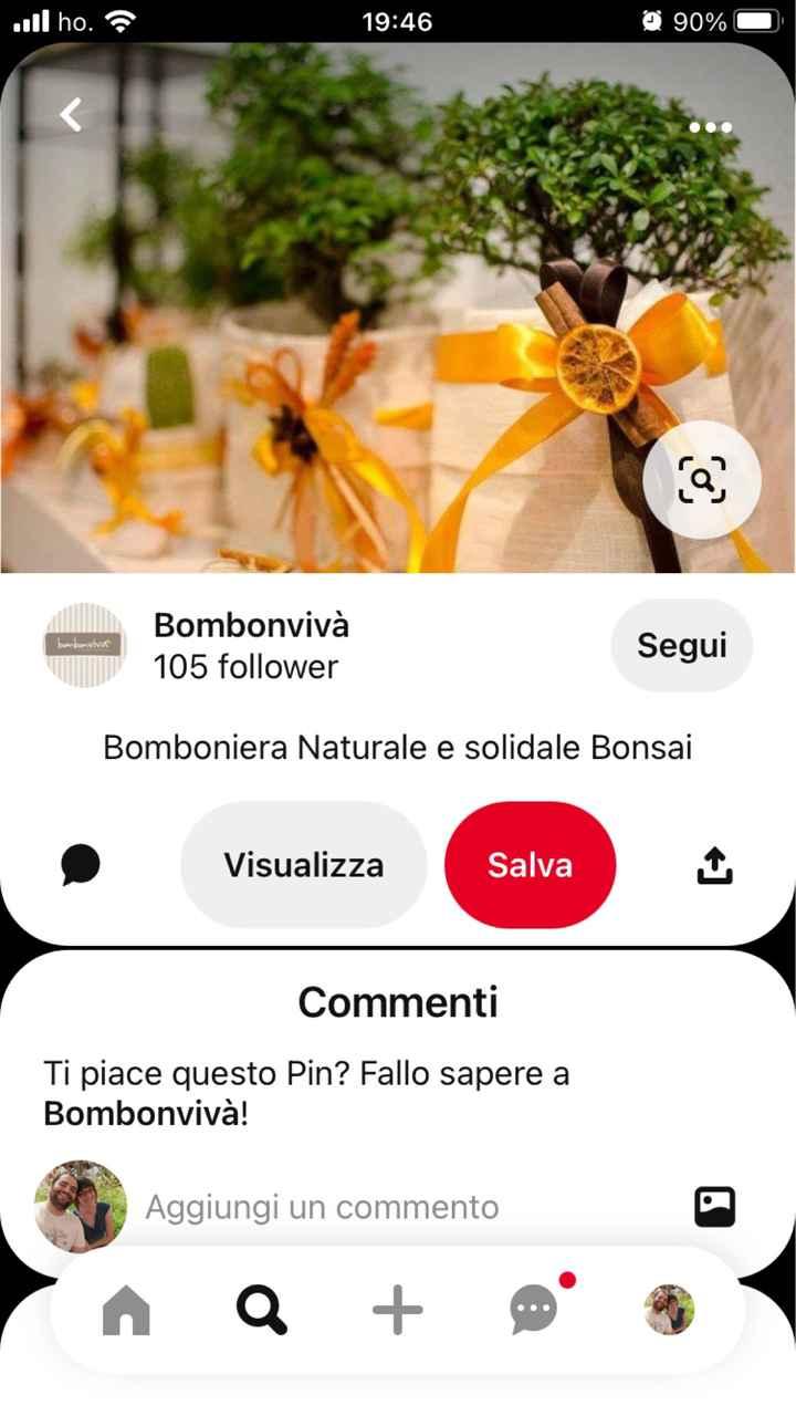 sos bomboniera bonsai - 5